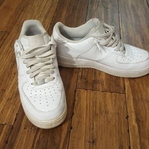 Nike Air Force 1 white men's sneakers
